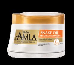 Dabur Amla Snake Oil <br/>Styling Hair Cream