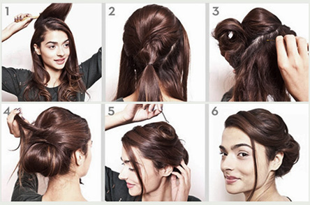 simple quick hairstyle