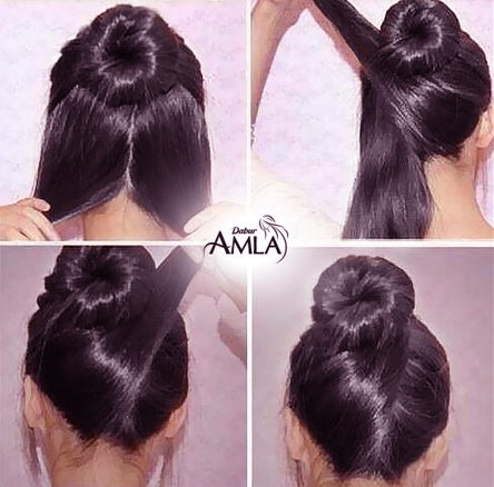 Good Prim Hairstyle. Be More Creative In Your Everyday Styles! A Normal Bun Is  Awesome But How About A Bow Bun? Would You Dare To Try It. Perfect Beach  Hair